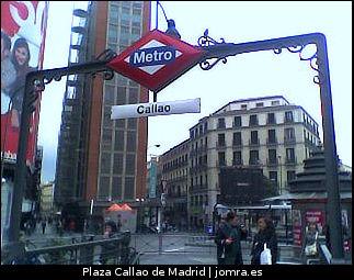 Plaza Callao en Madrid