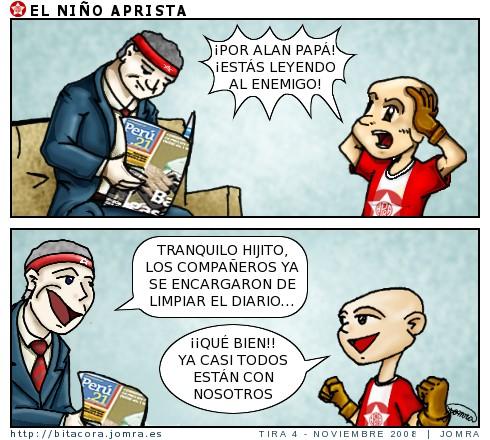 Niño aprista y Perú21